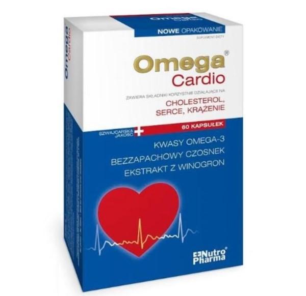 Omega Cardio czosnek